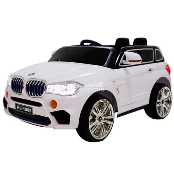 Mașină electrică cu acumulator și telecomandă BMW x5 AMG White