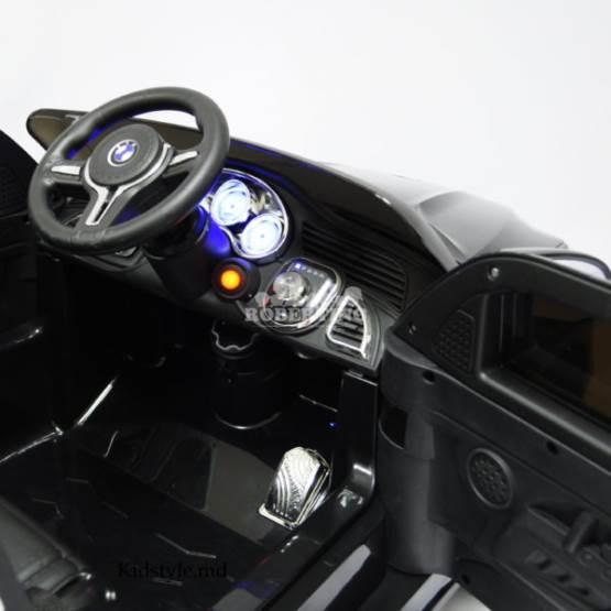 Mașină electrică cu acumulator și telecomandă BMW x5 AMG Negru