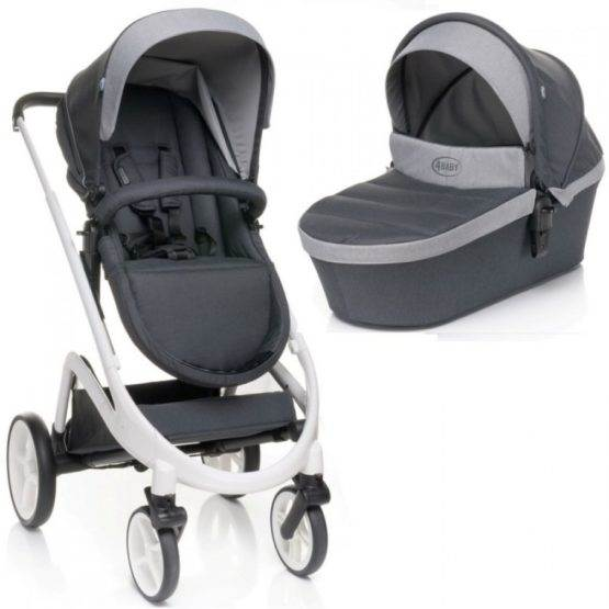 4BABY COSMO 2 IN 1 Dark Grey