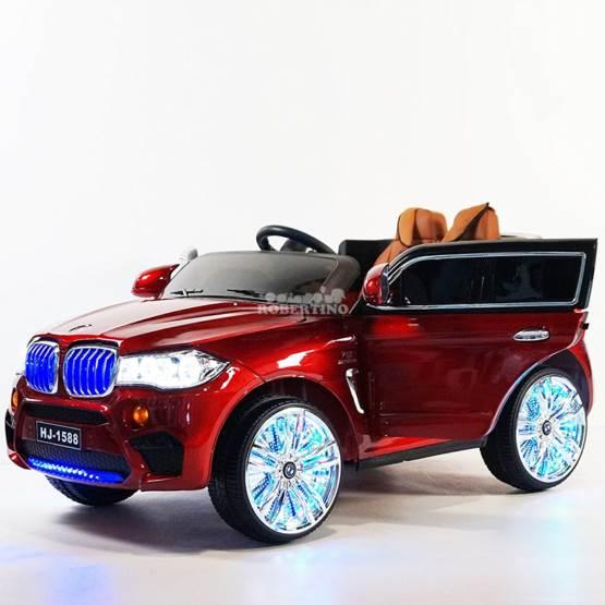 Mașină electrică cu acumulator și telecomandă BMW x5 AMG Red