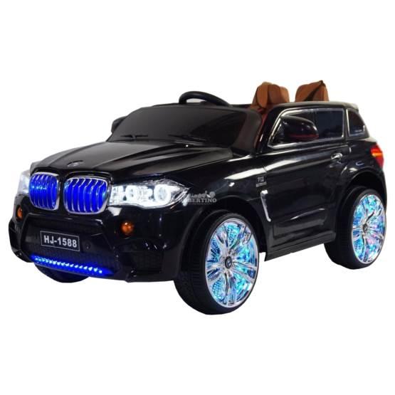Automobil electric cu acumulator și telecomandă BMW x5 Negru
