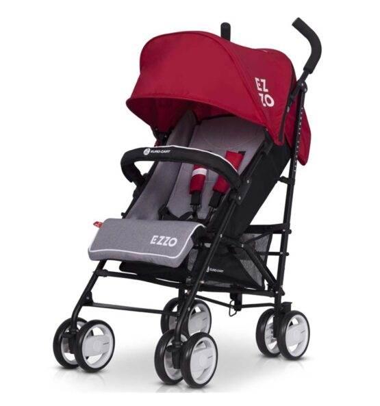 Cărucior de plimbare EZZO SCARLETT – Red