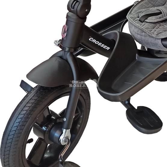 Tricicletă CROSSER T-400 NEO-GREY FOX