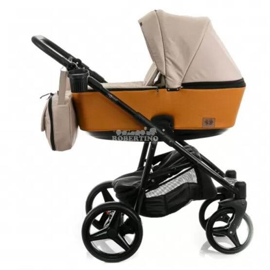 Cărucior pentru copii 2 în 1 ADAMEX REGGIO – ORANGE Y62