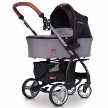 Cărucioare pentru copii 3 în 1 EASYGO VIRAGE ECCO 2019 – ANTHRACITE