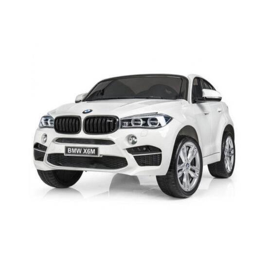 """BMW X6M """"2 LOCURI"""" – WHITE"""