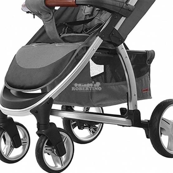 Cărucior 2 în 1 pentru copilași Carrello Vista - Steel Grey