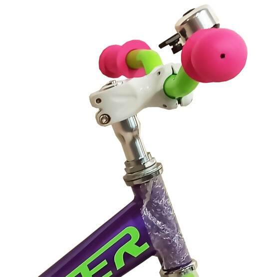 """Bicicletă pentru copii Balance Violet New Crosser, Diametrul roților 12"""""""