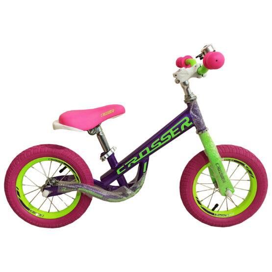 Bicicletă pentru copii fără pedale Balance Violet Crosser