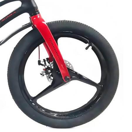 """Bicicletă Magnesium Black & Red, Diametrul roților 16"""""""