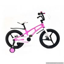 Bicicletă NEW Magnesium Pink&White Crosser