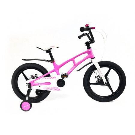 Bicicletă NEW Magnesium Pink&White Crosser