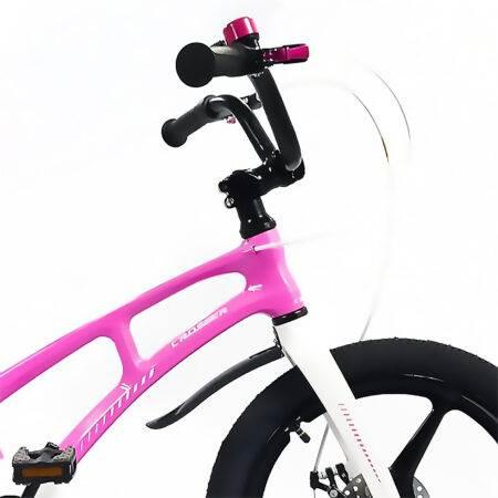 """Bicicletă Magnesium Pink & White Crosser, Diametrul roților 16"""""""
