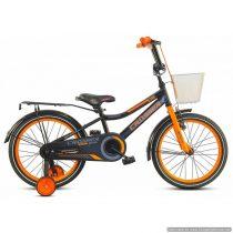 Bicicletă pentru copii C13 Black&Orange Crosser, Diametrul roților 20″