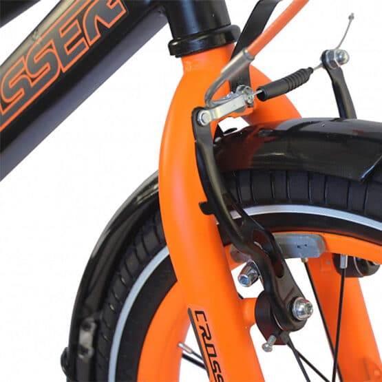 Bicicletă pentru copii C13 Black&Orange Crosser