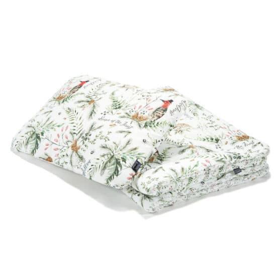 """Set așternut L pătură + pernă """"LaMillou"""" Forest – Forest Blossom"""