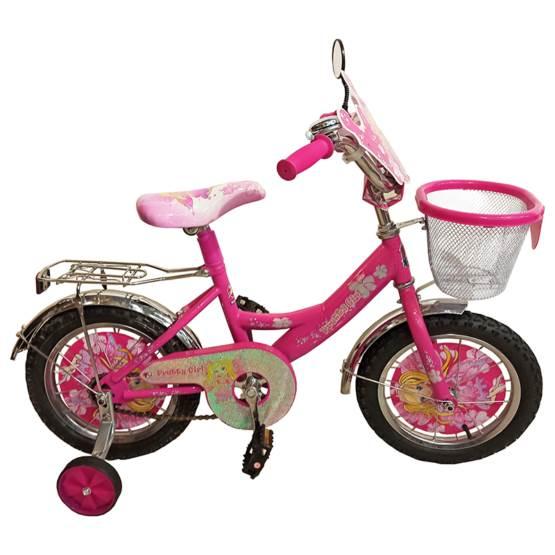 Bicicletă pentru fetițe Princess Pretty Girl, Diametrul roților 14″