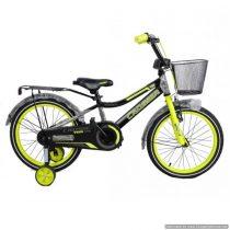 Bicicletă pentru copii C13 Yellow&Black Crosser, Diametrul roților 20″