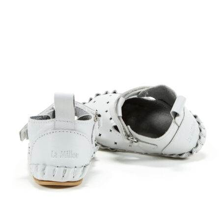 "Mocasini pentru copii Light Moonie's ""LaMillou"" First Step - Moon Gray"