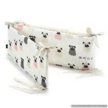 Garnitură bumper pentru pătuc 60×120 «LaMillou» Doggy Unicorn
