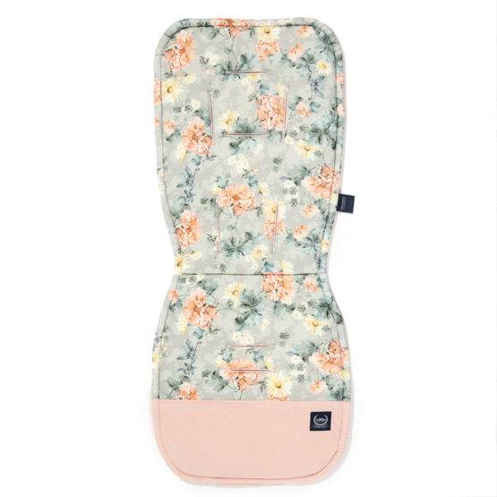 """Husă pentru cărucior 36.5×85 """"LaMillou"""" Blooming Boutique – Powder Pink"""