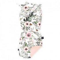 Husă pentru cărucior 32×82 «LaMillou» Wild Blossom — Powder Pink