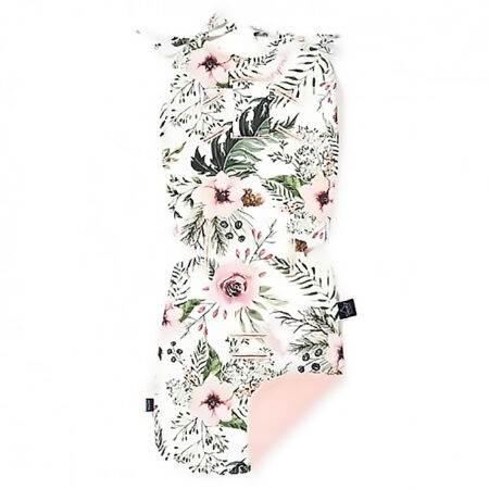 """Husă pentru cărucior 32×82 """"LaMillou"""" Wild Blossom – Powder Pink"""