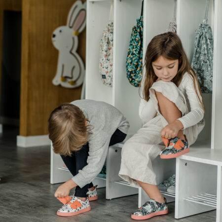 "Adidași pentru copii Moonie's Walker ""LaMillou"" Zoo - Apricot"