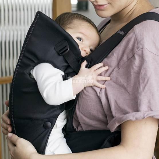 Geantă KANGOO BabyBjorn Mini Black