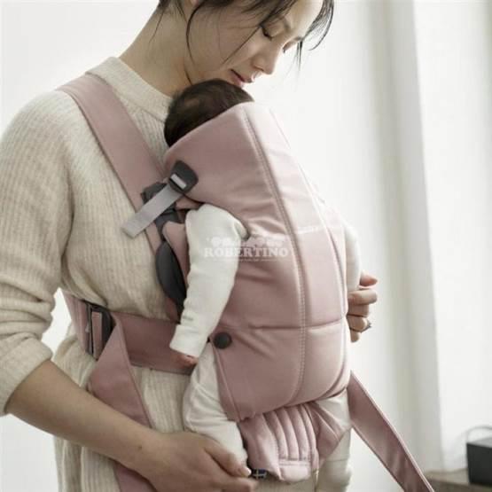 Geantă KANGOO BabyBjorn Mini Dusty Pink