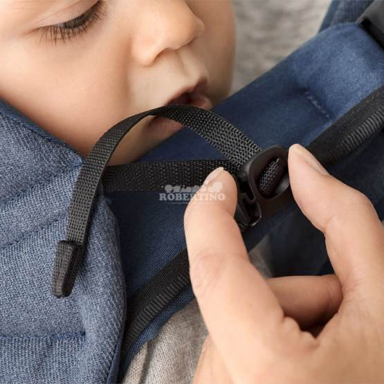 Geantă KANGOO BabyBjorn One Denim Midnight Blue