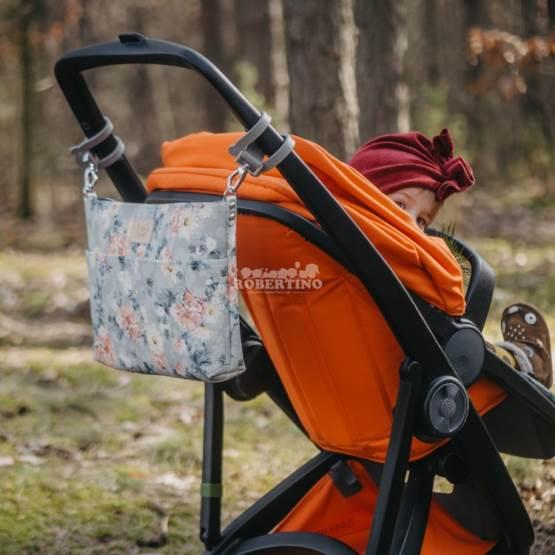 Poșetă pentru plimbări Feeria Premium | ORGANIZATOR STROLLER | Forest