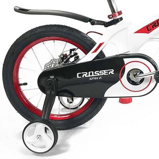 """Bicicletă Space White Crosser, Dimetrul roților 18"""""""
