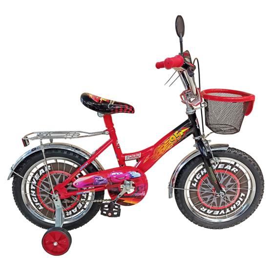 Bicicletă pentru copii CARS McQueen Black