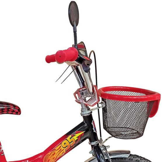 """Bicicletă pentru copii CARS McQueen Black, Diametrul roților 16"""""""