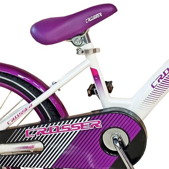 """Bicicletă pentru copii C3 Violet Crosser, Diametrul roților 18"""""""