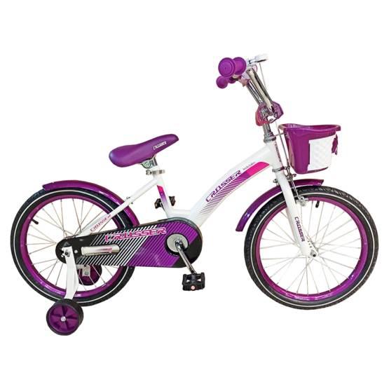 Bicicletă pentru copii C3 Violet Crosser, Diametrul roților 18″