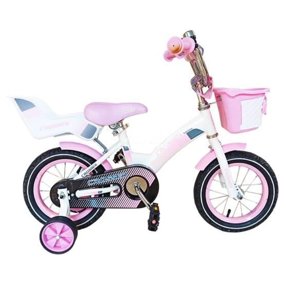 Bicicletă pentru fetițe C3 Pink Crosser