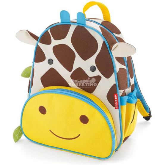 Rucsac pentru preșcolari SKIP HOP Zoo Little Kid – Giraffe