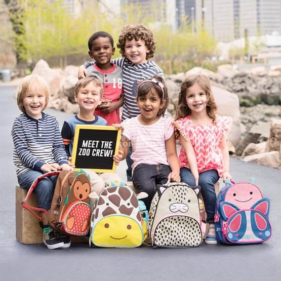 Rucsac pentru preșcolari SKIP HOP Zoo Little Kid - Giraffe