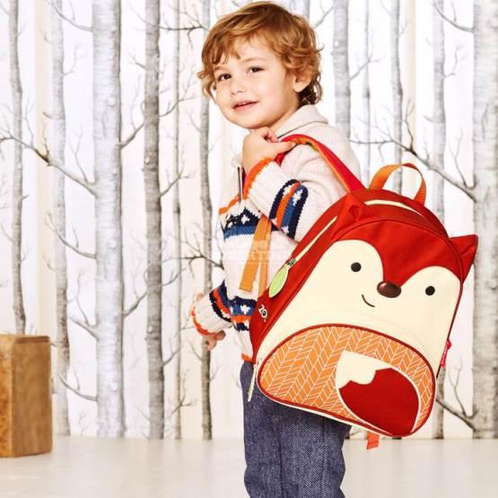 Rucsac pentru preșcolari SKIP HOP Zoo Little Kid - Fox