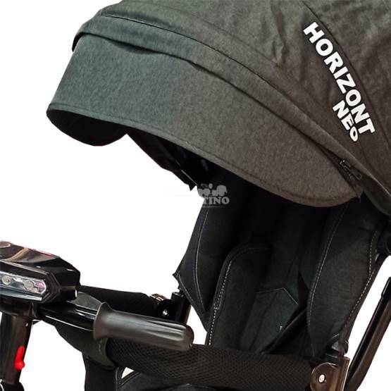 Tricicletă HORIZONT NEO BLACK