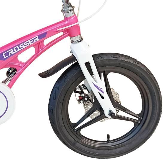 Bicicletă pentru copii Magnesium Pink&White Crosser