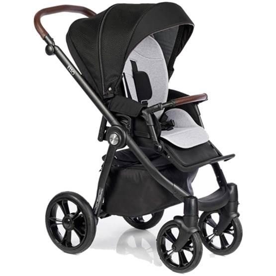 Cărucioare pentru copii 2 în 1 ROAN ESSO - BLACK