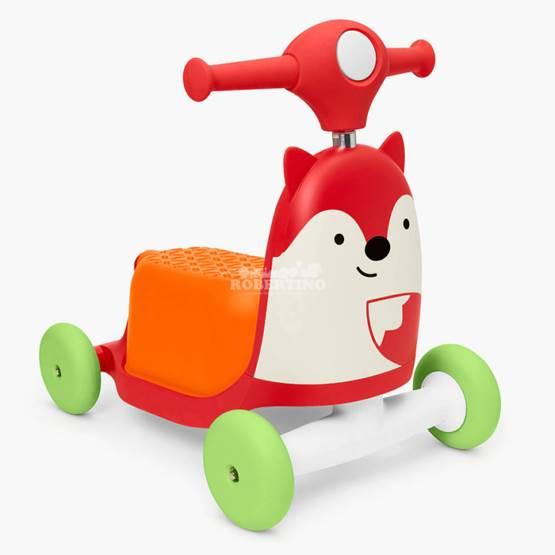 Scooter pentru copii 3 în 1 SKIP HOP Ride on Toy – Fox