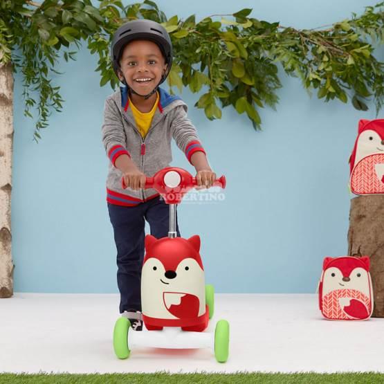 Scooter pentru copii 3 în 1 SKIP HOP Ride on Toy - Fox