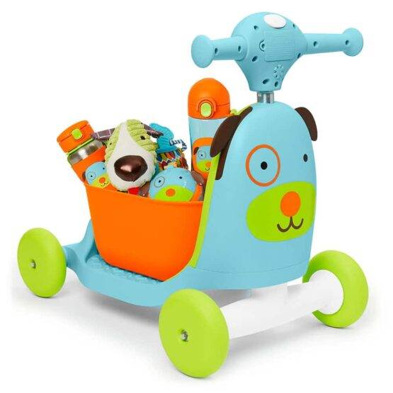 Scooter pentru copii 3 în 1 SKIP HOP Ride on Toy – Dog