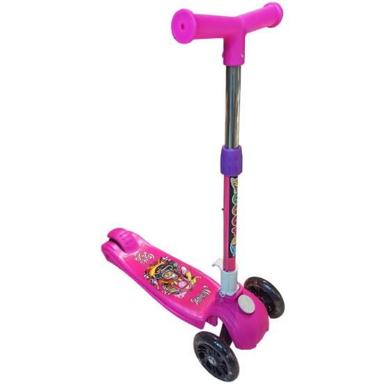 Trotinetă pentru copii C009 Pink