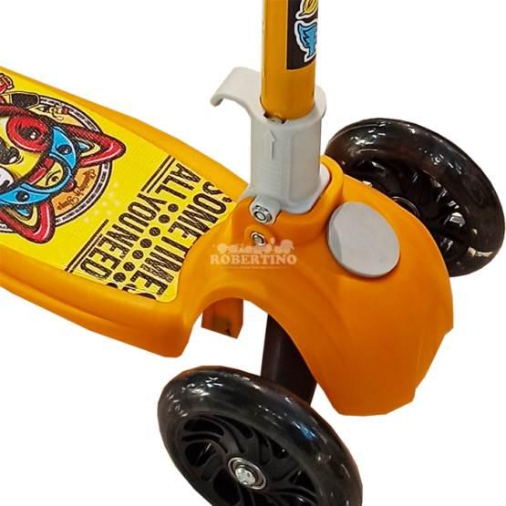 Trotinetă pentru copii C009 Yellow