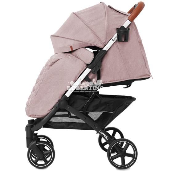 Cărucior demi-sezon Carello Astra - Aprikot Pink